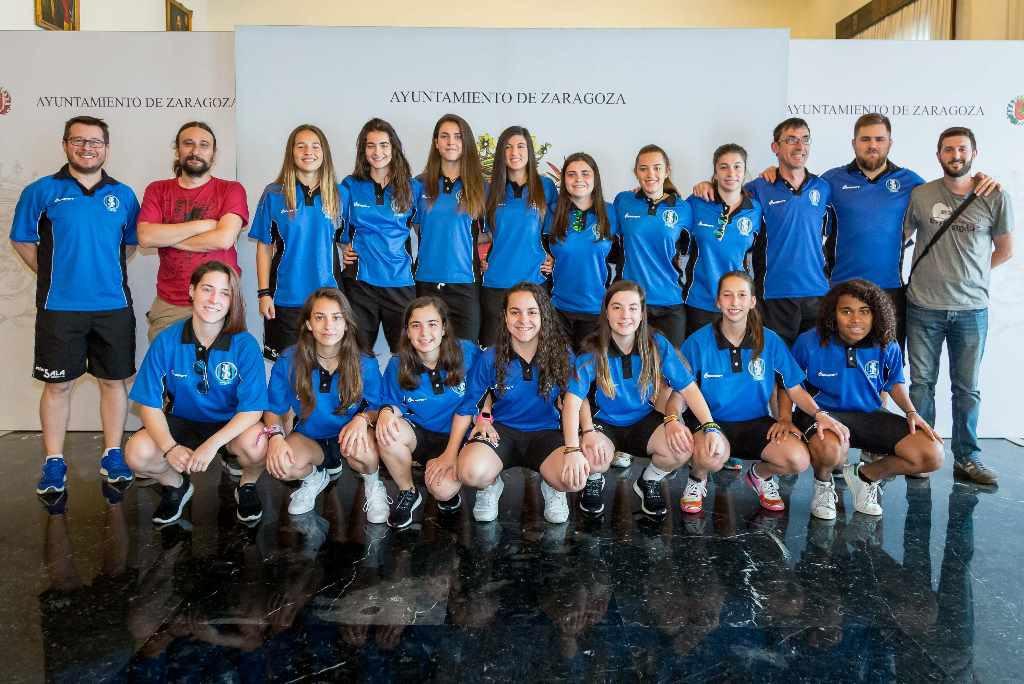 Zaragoza reúne este fin de semana a las mejores canteras de fútbol sala femenino