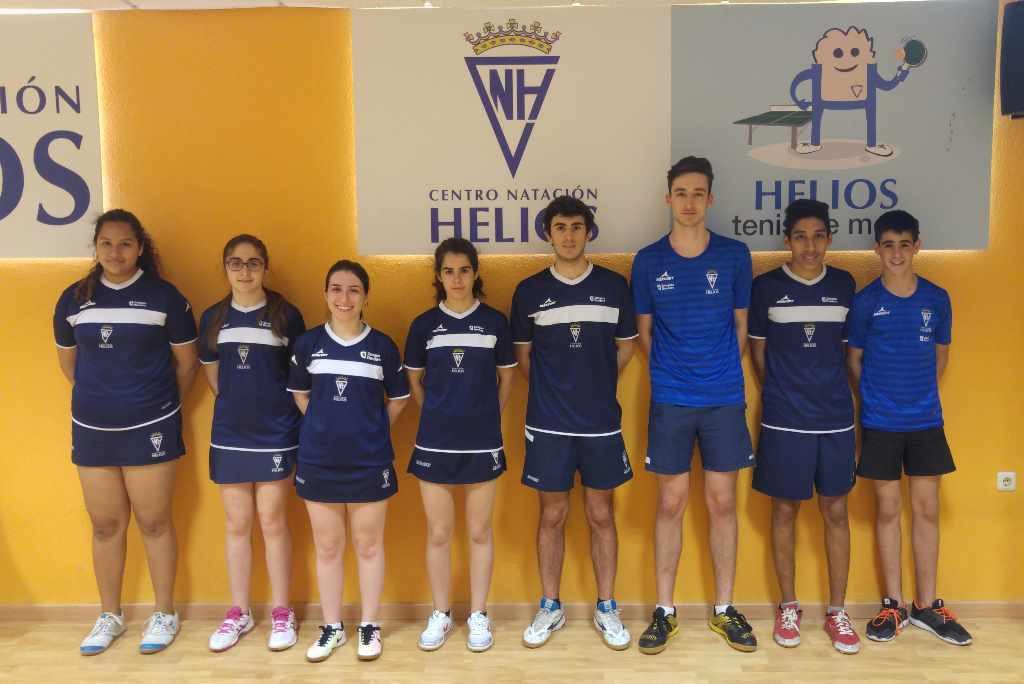 Nutrida participación del tenis de mesa aragonés en los Campeonatos estatales