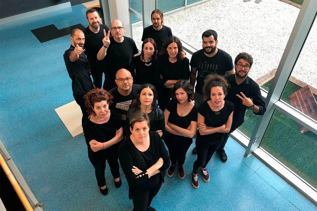 Tercer jueves negro de la plantilla de CHIP Audiovisual, la empresa encargada de los informativos de Aragón TV