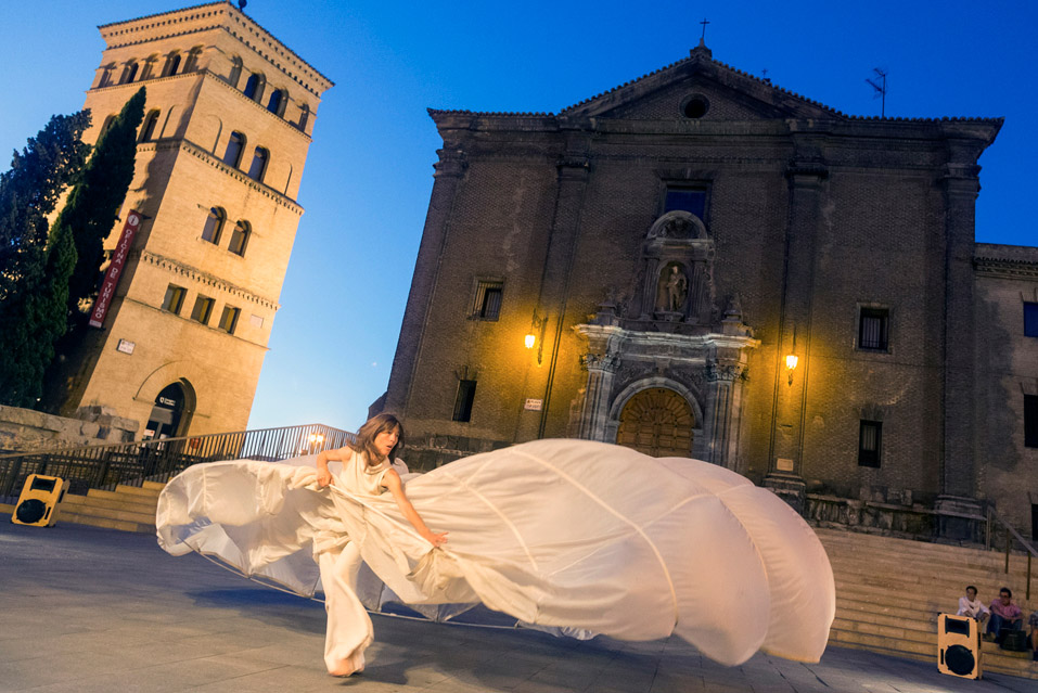 Vuelve la 'Noche en Blanco' a Zaragoza, la fiesta nocturna de la cultura