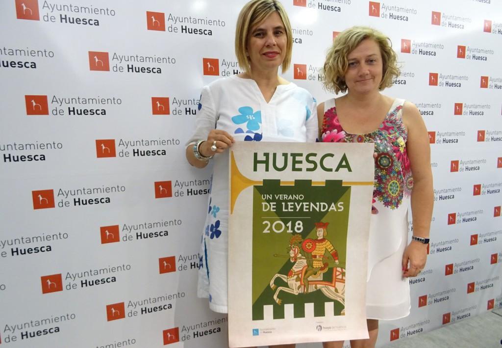 """Brujas, el Santo Grial, lainas y onsos protagonizan el programa turístico """"Uesca, un verano de leyendas"""""""