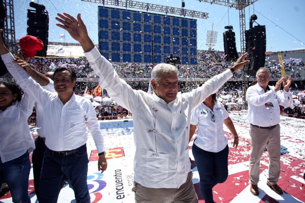 México, huracán Obrador