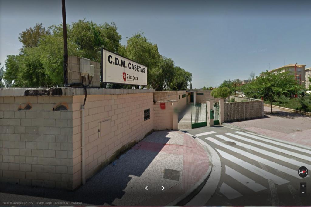 La Asociación Vecinal de Casetas demanda al Ayuntamiento de Zaragoza la reparación de la pérdida de agua de las piscinas