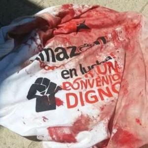 """CGT condena la """"violencia policial"""" contra la plantilla en huelga de Amazon"""