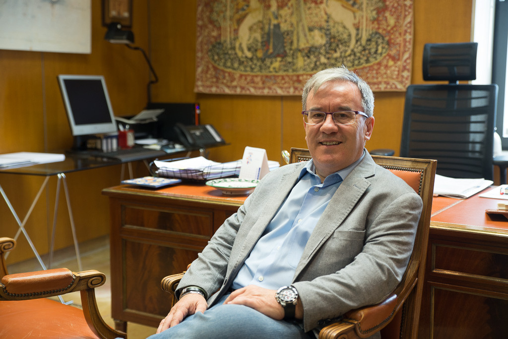 """Ángel Dolado: """"Sería buena idea que la ciudadanía aragonesa eligiera directamente al Chusticia d'Aragón"""""""
