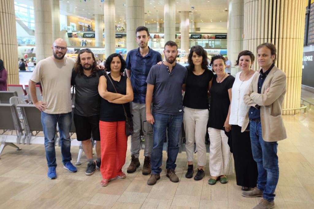Una delegación de cargos públicos estrecha lazos de solidaridad con el pueblo palestino en Cisjordania