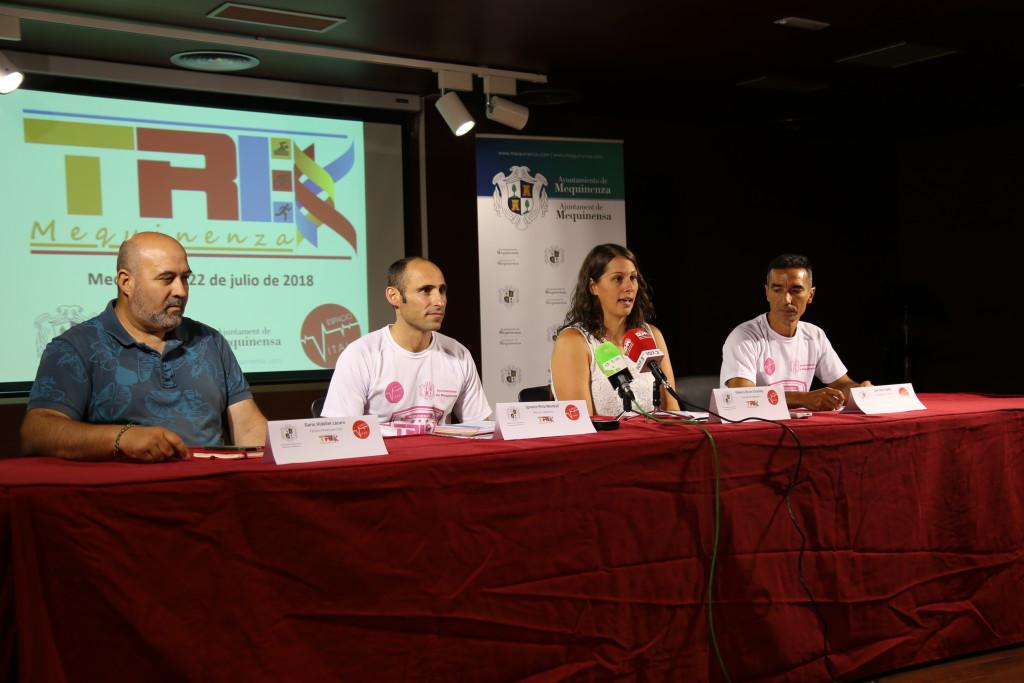 220 triatletas participarán el domingo en el II Half Triatlón de Mequinensa y Campeonato de Aragón de Media Distancia