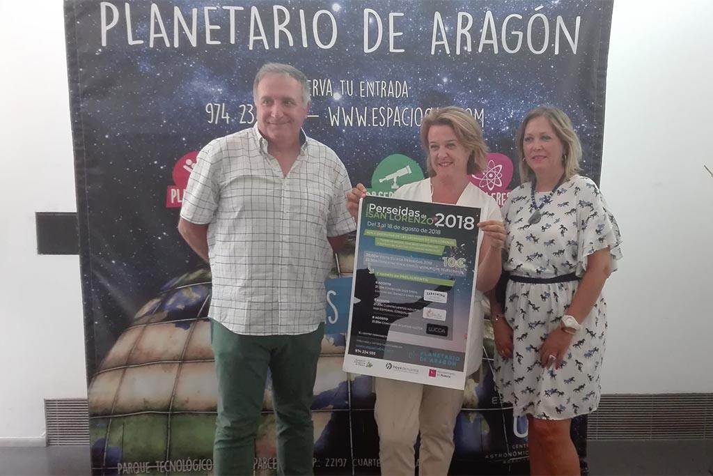 Las Lágrimas de San Lorenzo, protagonistas del cielo oscense y del Planetario de Aragón