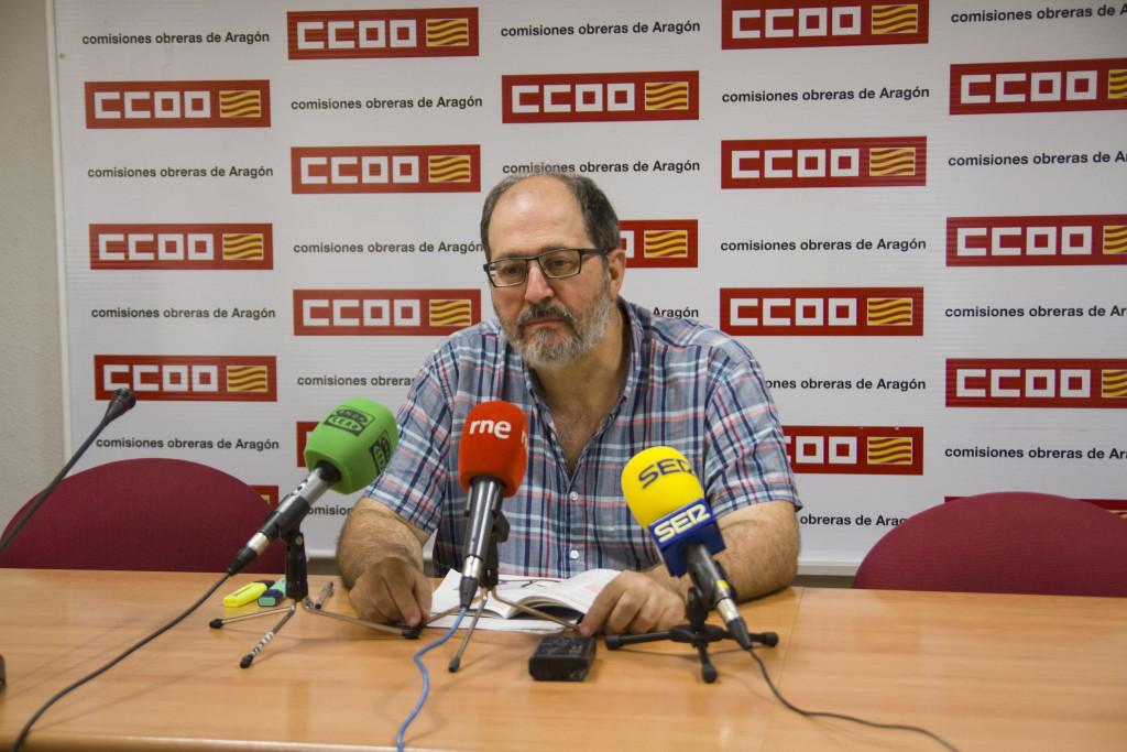 CCOO reclama a las empresas aragonesas un plan para prevenir los golpes de calor