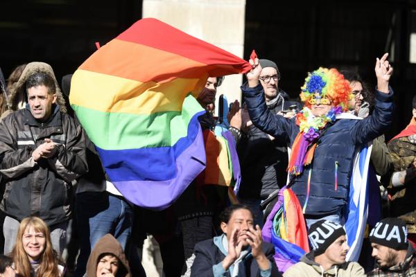 Imagen de las gradas en el partido Uruguay-Rusia. Foto: Comunicación Desarrollo Social (CC)