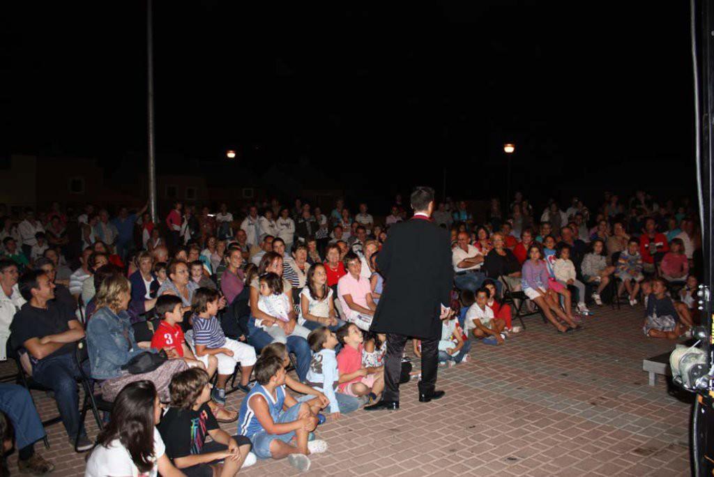 El circo se une a las propuestas culturales de las 'Noches de Verano en el Aranda'