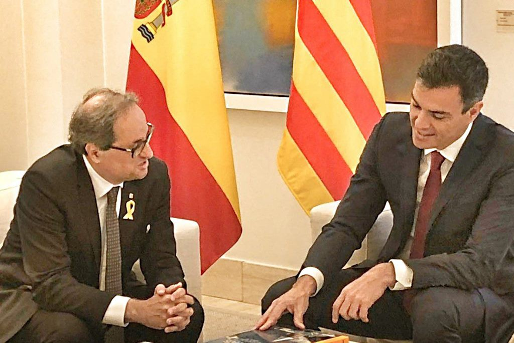 """Torra califica el juicio de """"un ataque a la democracia"""" y pide a Sánchez """"coraje y valentía"""" para retomar el diálogo"""