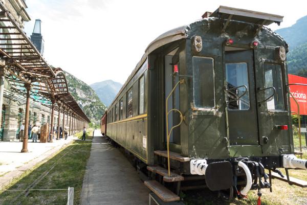 Estación internacional de Canfranc. Foto: Pablo Ibáñez (AraInfo)