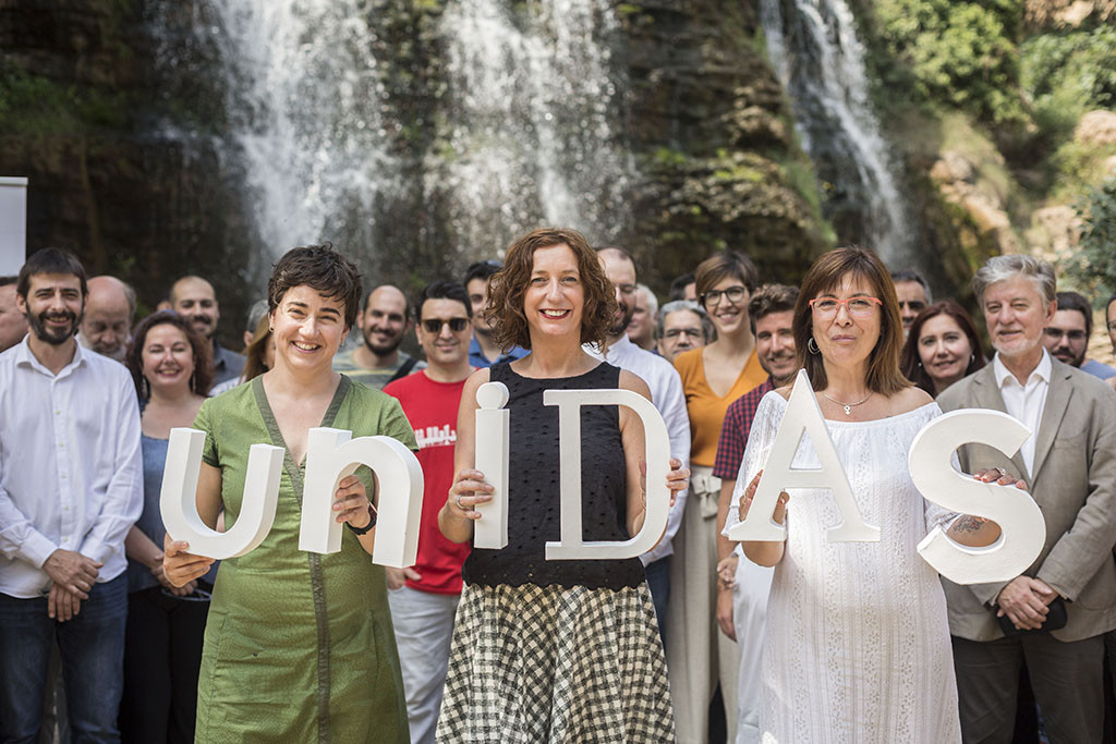 """Unidas se presenta para """"ganar en las elecciones de 2019"""" y """"gobernar en el mayor número de instituciones de Aragón"""""""