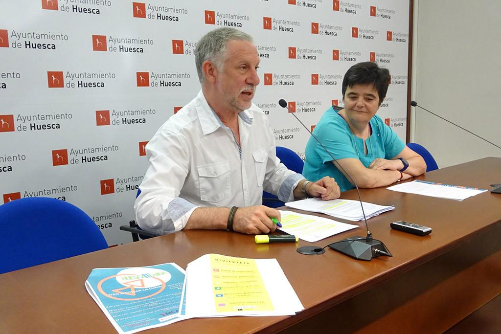 Igualdad presenta una campaña para concienciar sobre las relaciones igualitarias y contra las agresiones sexuales en Uesca
