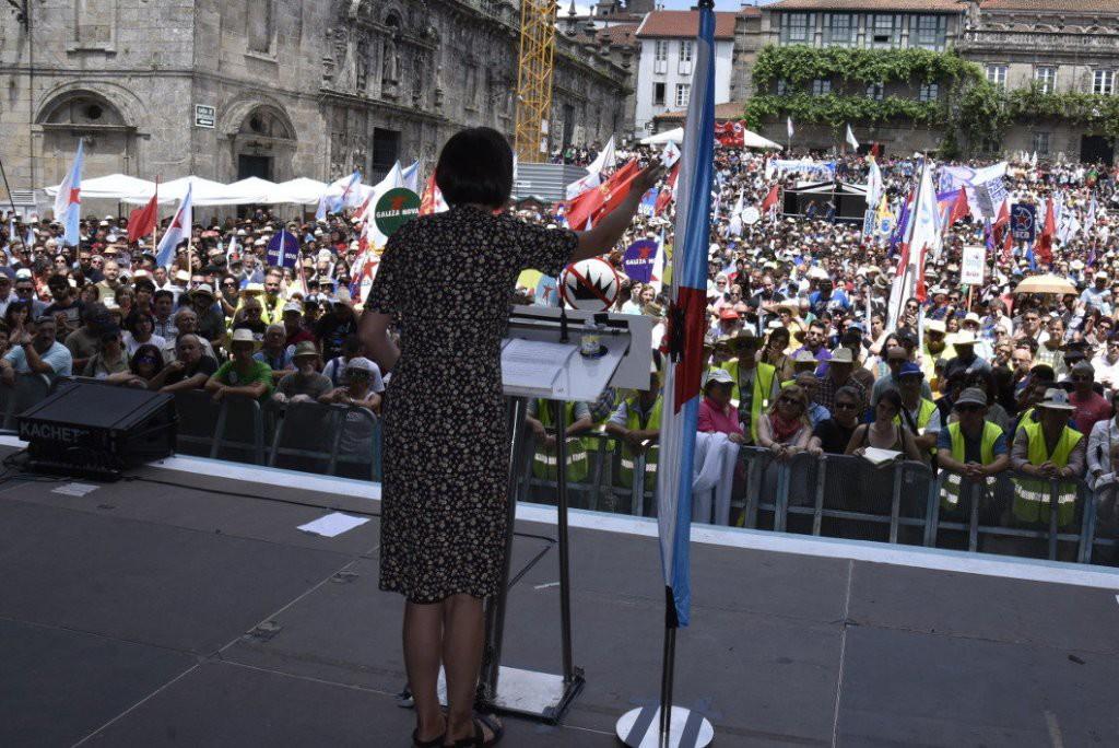 """El BNG reclama, en el Día da Patria Galega, un cambio """"urgente"""" en clave nacionalista para las próximas municipales de 2019"""