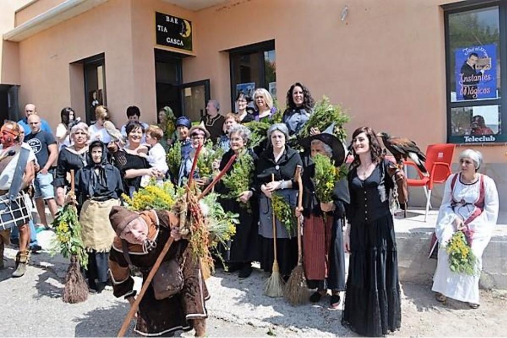 Trasmoz se prepara para recibir a más de 5.000 personas en su XVIII Feria de la brujería