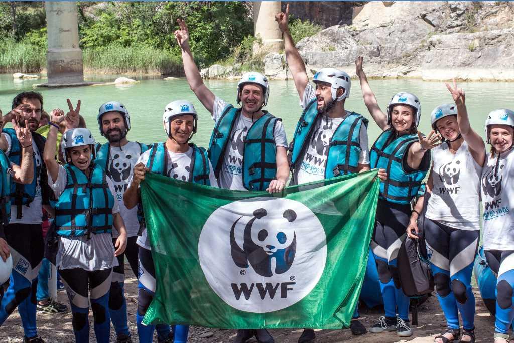 El Gran Salto en favor de los ríos se celebra en Morillo de Galligo