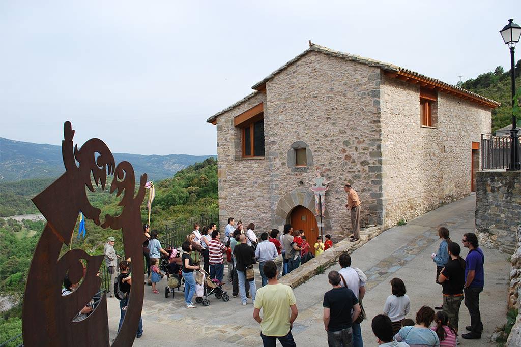 """Llega """"País de Moñacos"""", el festival de teatro de La Casa de los Títeres de Abizanda"""