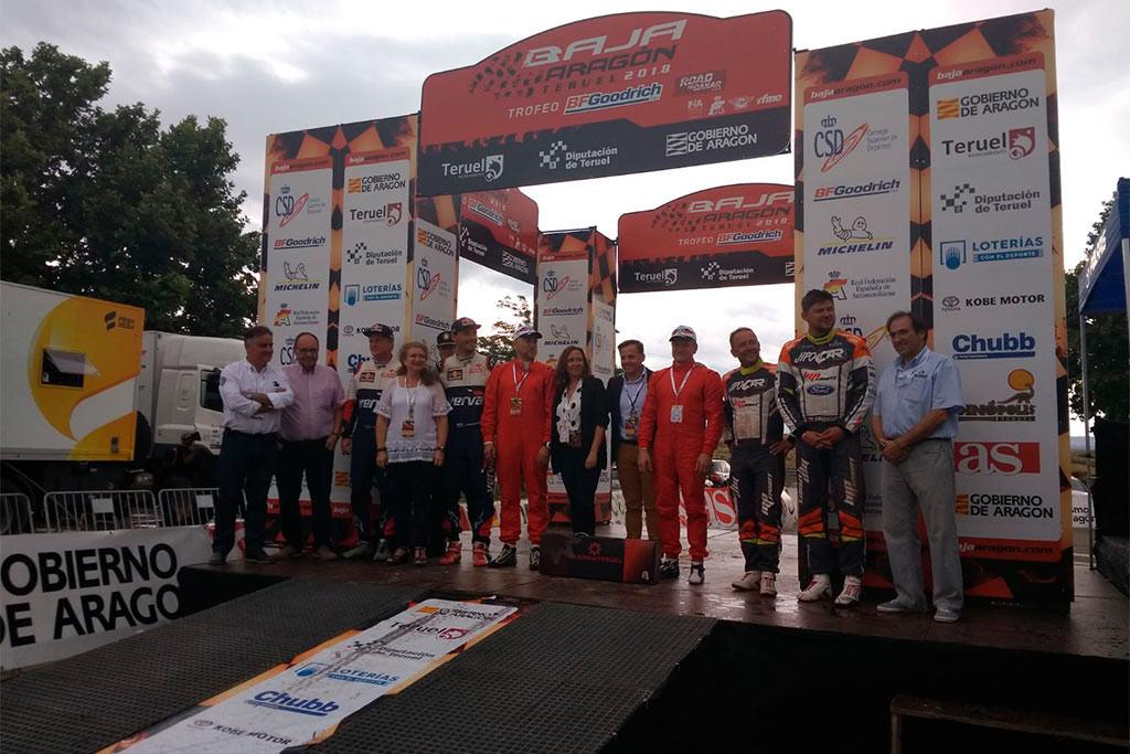 La Baja Aragón finaliza con éxito de participación en una edición que ha tenido como pista el Baixo Aragón