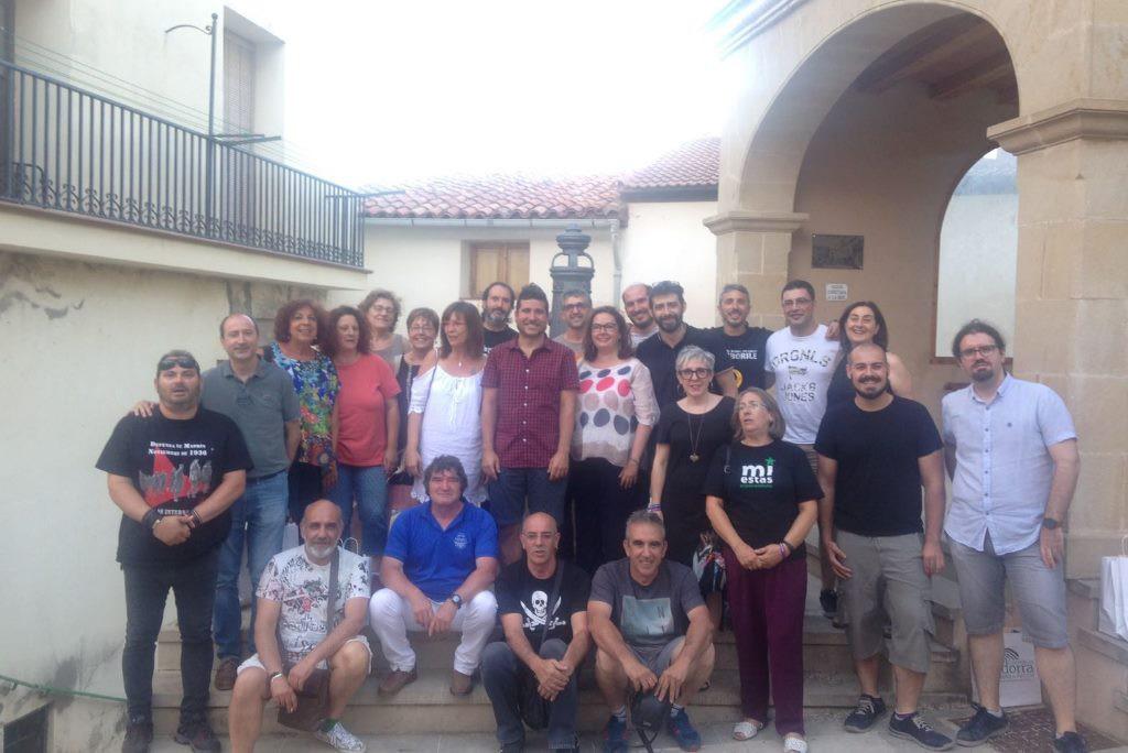 La asamblea de GANAR Teruel se centra en buscar la confluencia de izquierdas