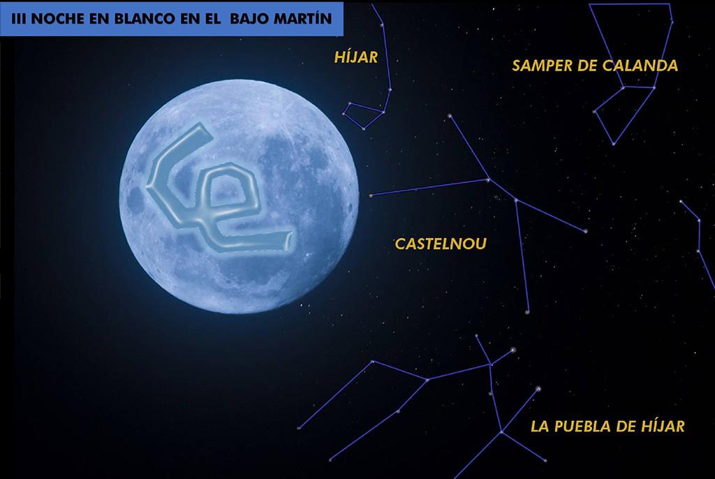 El Baixo Martín celebra su tercera Noche en Blanco