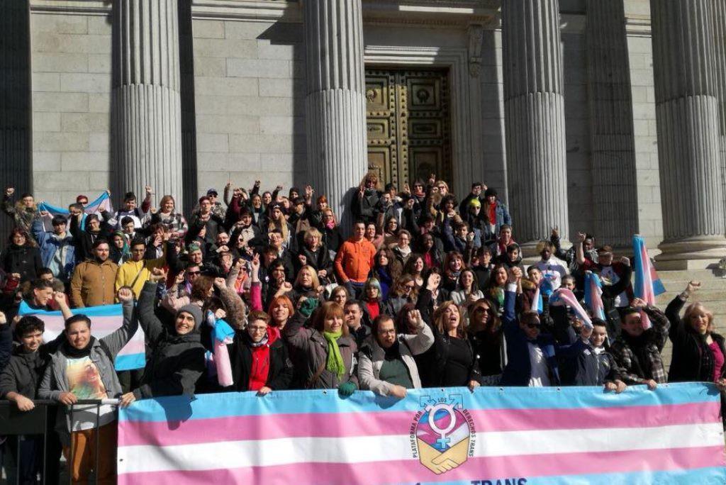 La Plataforma Trans exige a Unidos Podemos que lleve al pleno del Congreso español la Ley Trans Estatal