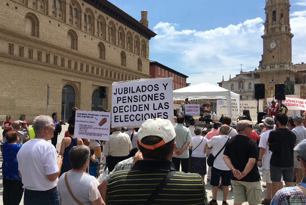 La Coordinadora por la Defensa del Sistema Público de Pensiones retoma sus movilizaciones