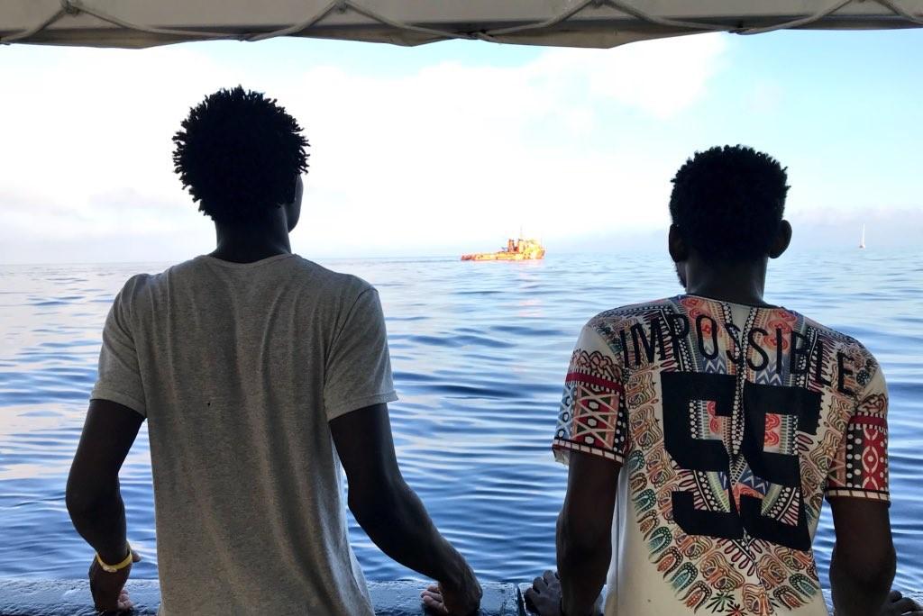 El Estado español acogerá a 50 personas de las 450 rescatadas en Italia