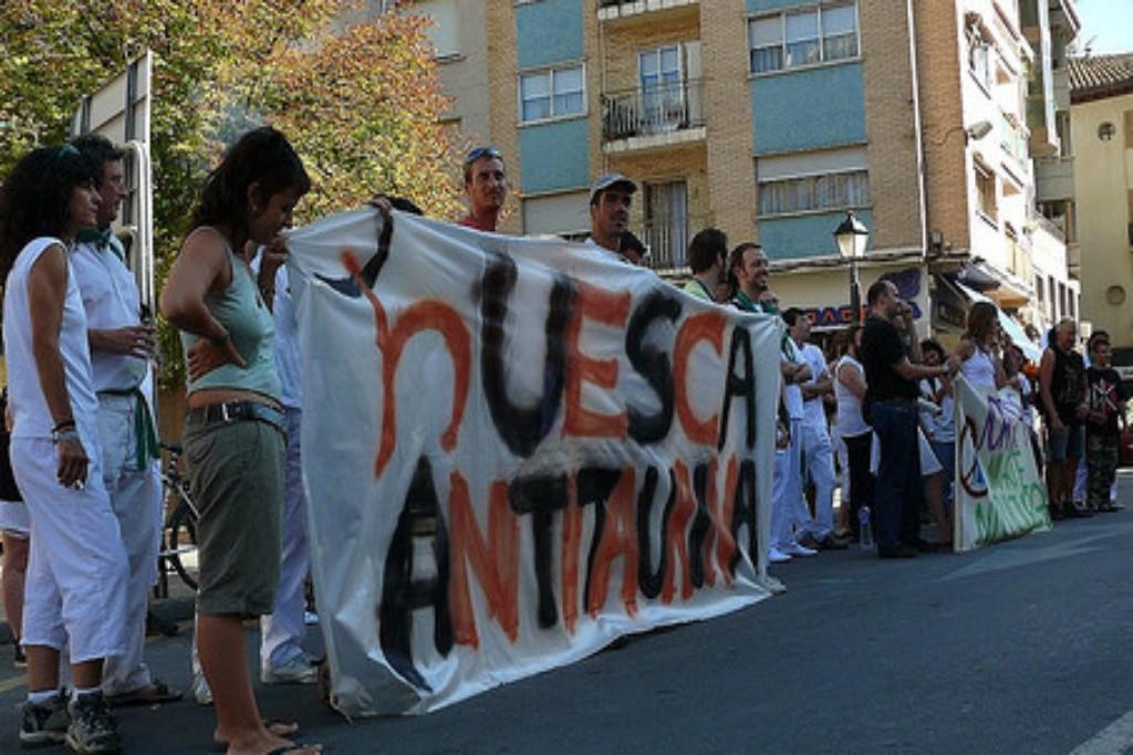 La Justicia falla a favor de Amnistía Animal y la concentración antitaurina se podrá realizar durante las fiestas de San Lorenzo