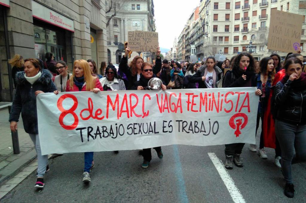 Trabajadoras sexuales en Europa