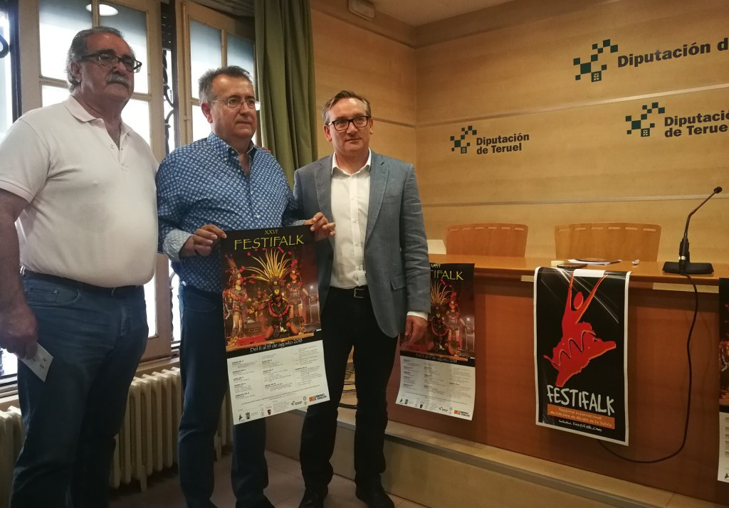 El Festival Internacional de Folclore de Alcalá de la Selva celebra su XXVI edición