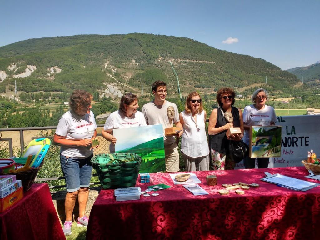 Jaca Sin Perder el Norte celebra su primera edición de premios de pintura