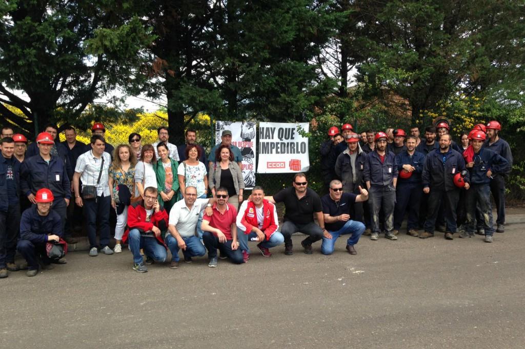 Izquierda Unida Teruel y el Núcleo del PCE del Bajo Aragón Histórico muestran su rechazo a la sentencia contra los trabajadores de Maessa