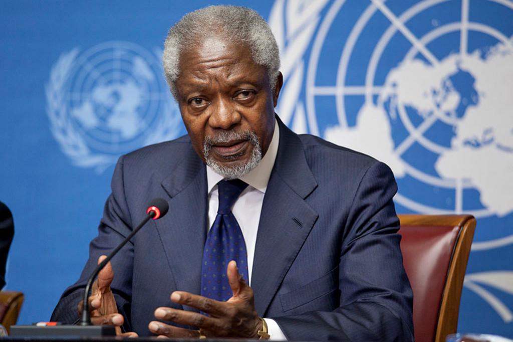 Fallece el ex secretario general de la ONU Kofi Annan tras una breve enfermedad