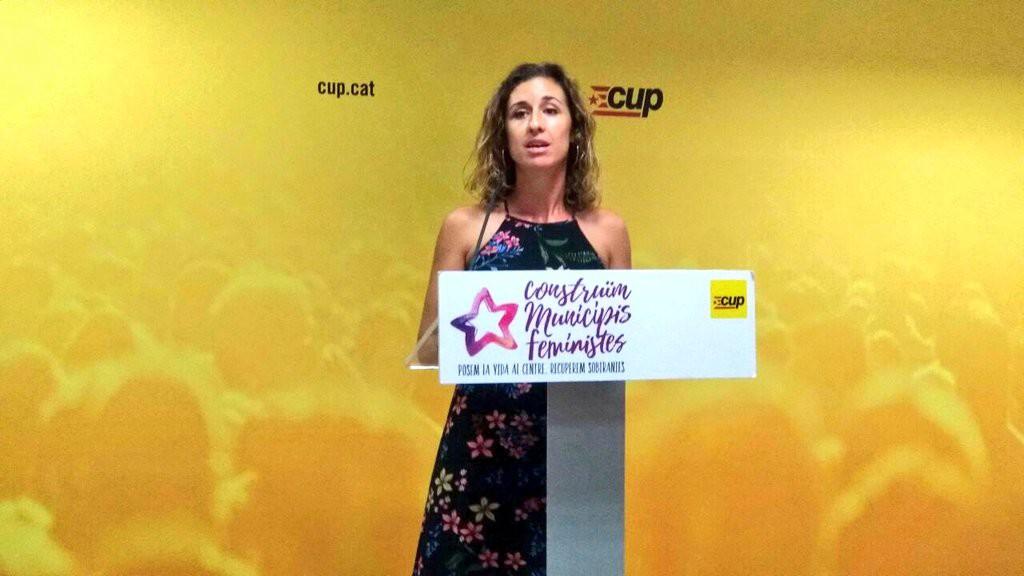 """La CUP destaca la importància de la lluita feminista """"per construir un futur i un present més justos"""""""