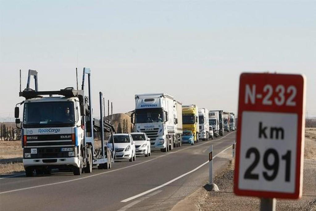 CHA lamenta el nuevo accidente mortal en la N-232 y demanda al Ministerio de Fomento el desdoblamiento de la carretera