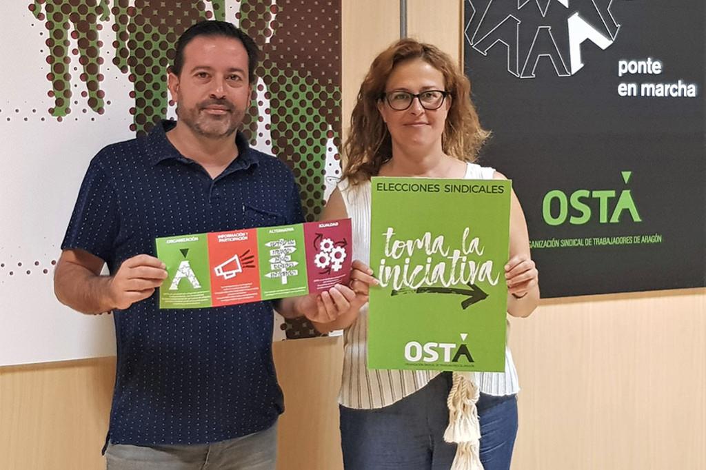 """""""Toma la iniciativa"""", la nueva campaña de OSTA para las elecciones sindicales de 2018-2019"""