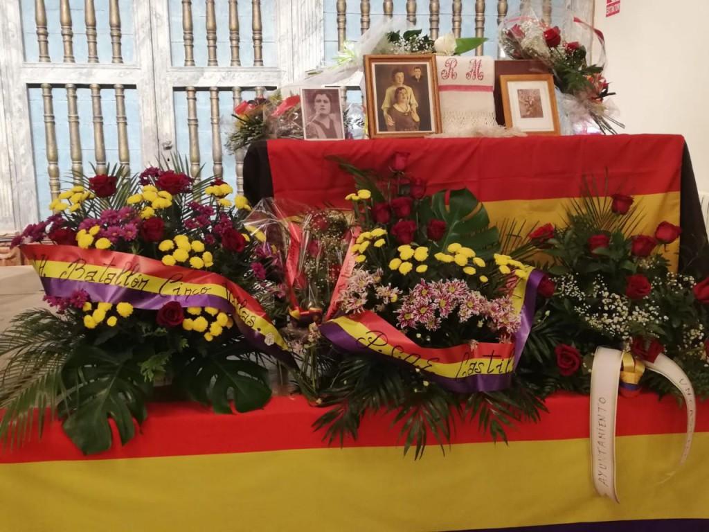 Verdad, justicia y reparación: los restos de Rosario Malón Pueyo vuelven a su casas