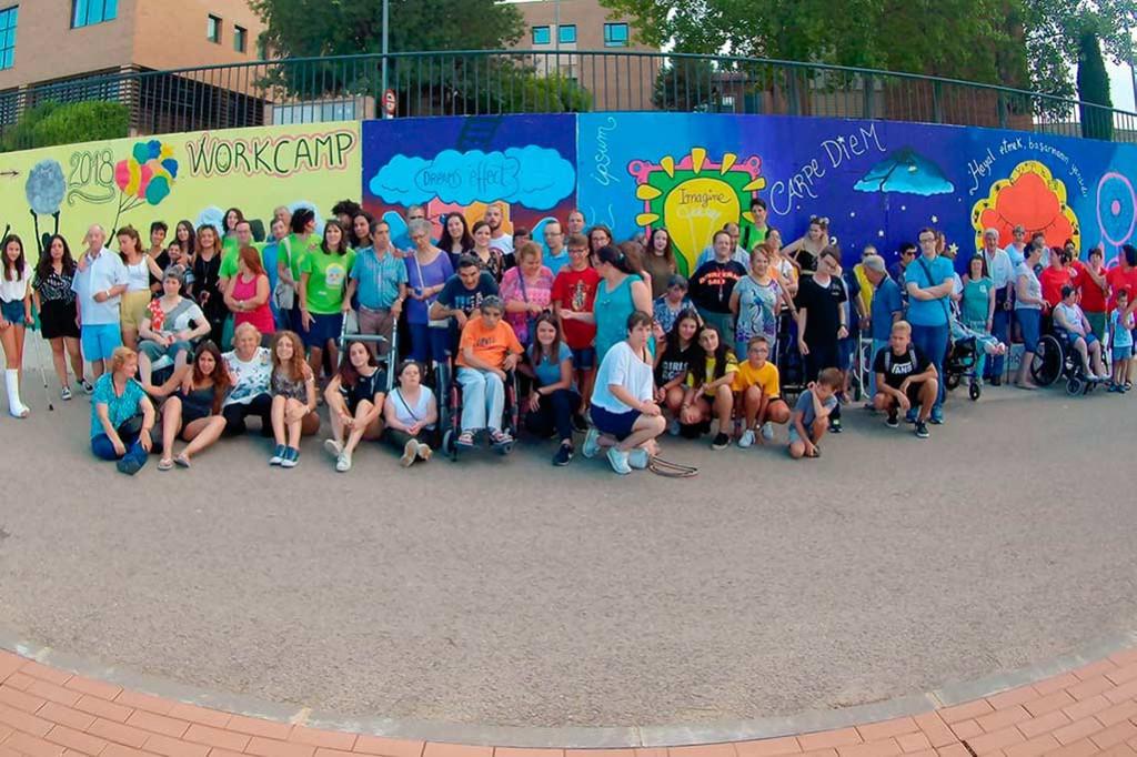 Finaliza el campo de voluntariado juvenil de ATADI en Alcorisa