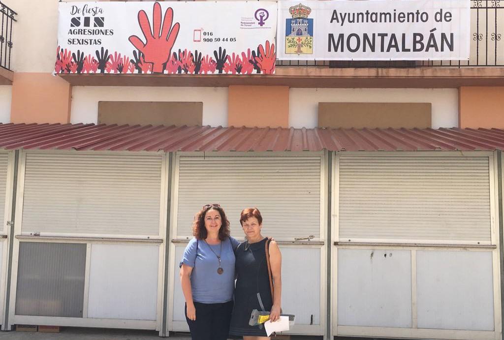 Mont Albán/Montalbán se suma a la campaña 'De fiesta sin agresiones sexistas'