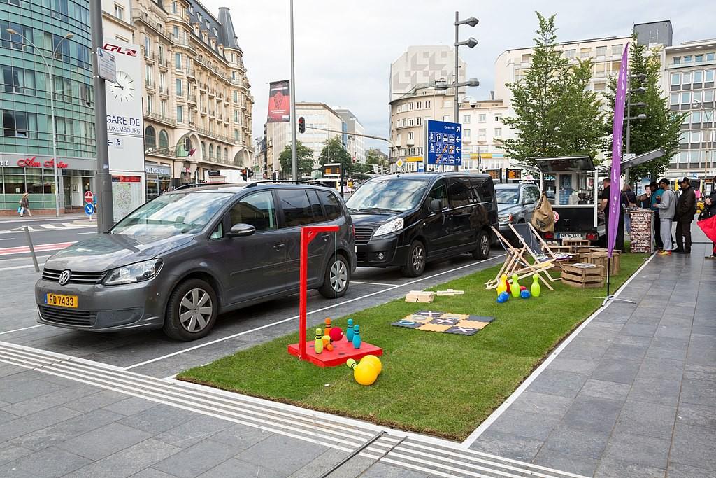 Dos jornadas de Parking Day para comenzar la Semana Europea de la Movilidad en Zaragoza