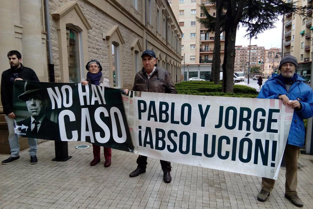 """Penas de prisión para los militantes de CNT Logroño por el """"No caso 14N"""""""