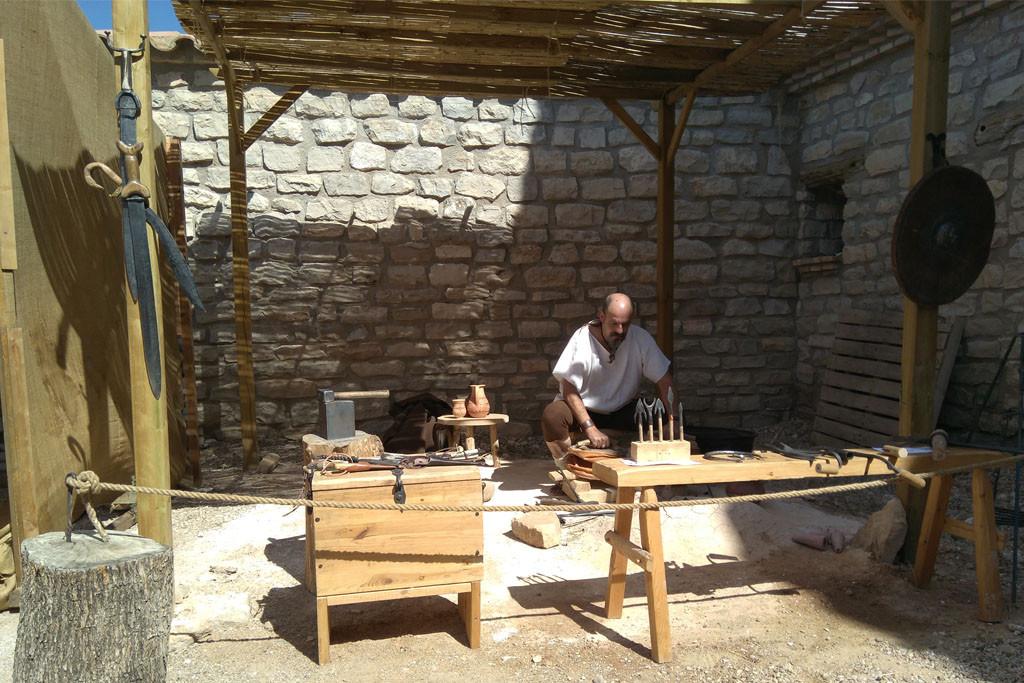 Azaila poblado íbero por un día en su XIV edición de Sedeisken