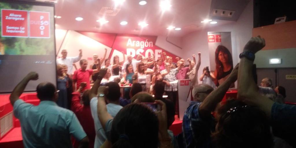 Pilar Alegría y Carmen Dueso irán a una segunda vuelta en las primarias del PSOE a la Alcaldía de Zaragoza