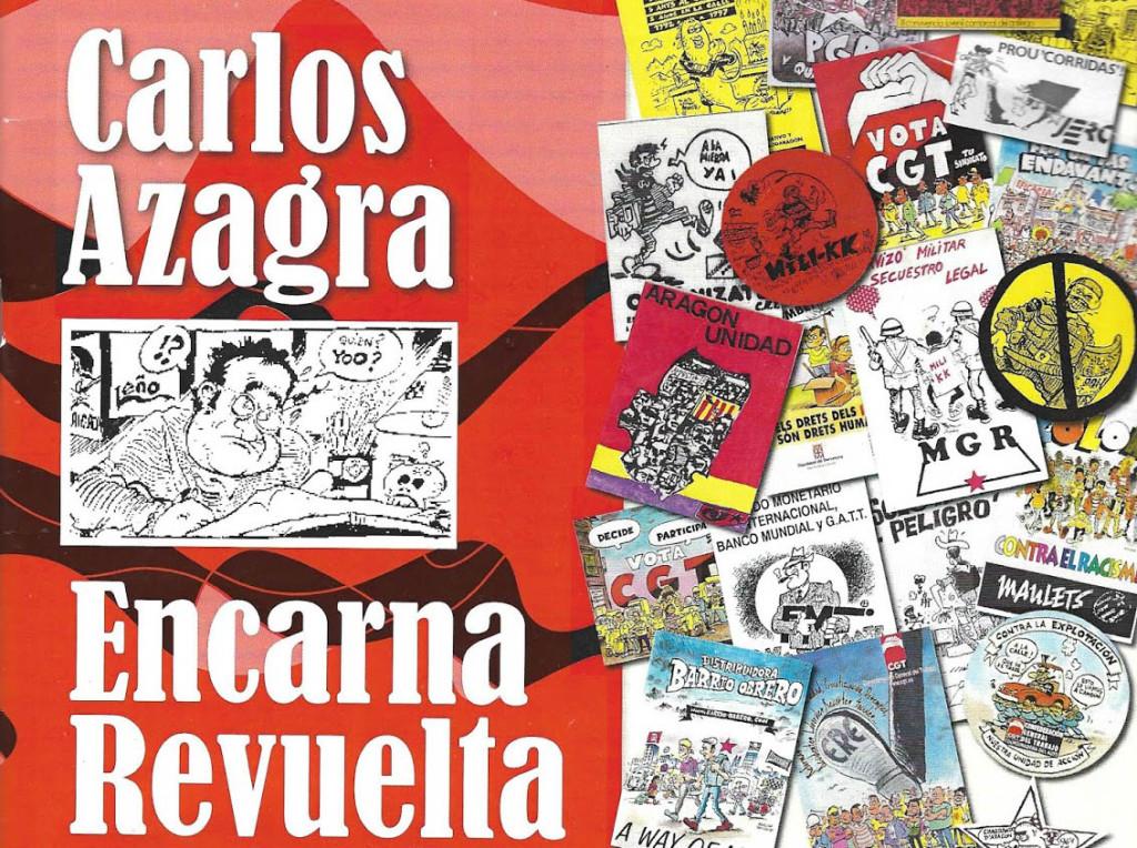 Las Jornadas de Cómic de Uesca acogen la presentación de la publicación 'Carlos Azagra y Encarna Revuelta, Memoria Gráfica Generada en Pegatinas'