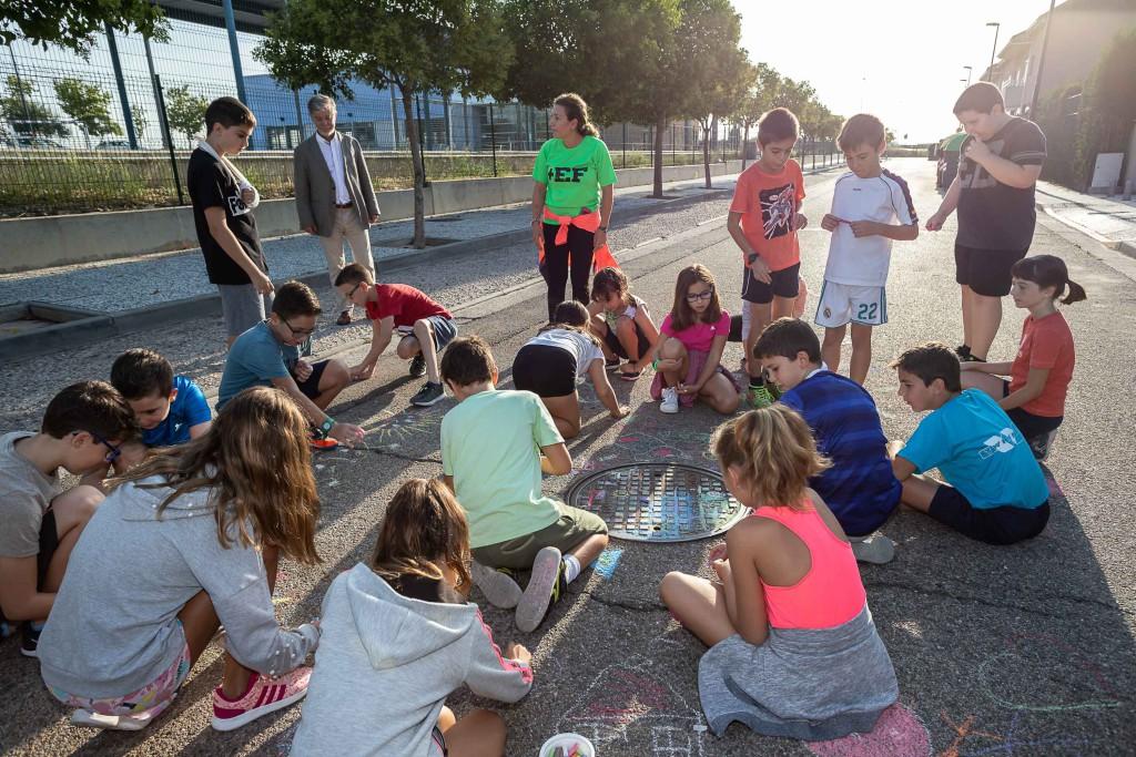 La Ciudad de la Infancia protagoniza la Semana Europea de la Movilidad en Zaragoza con actividades de calle