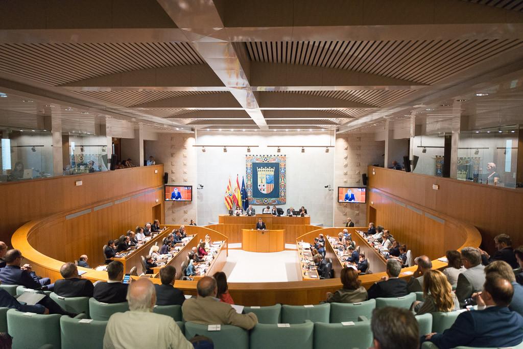 El último Debate sobre el estado de Aragón de la IX Legislatura se cierra con la aprobación de 108 propuestas de resolución