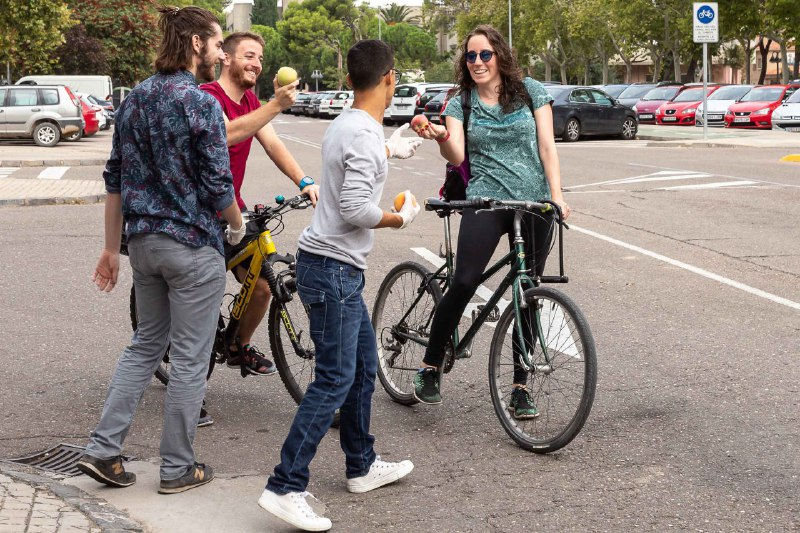 'Desayunos Ciclistas' saludables en Zaragoza para empezar con fuerza la Semana de la Movilidad