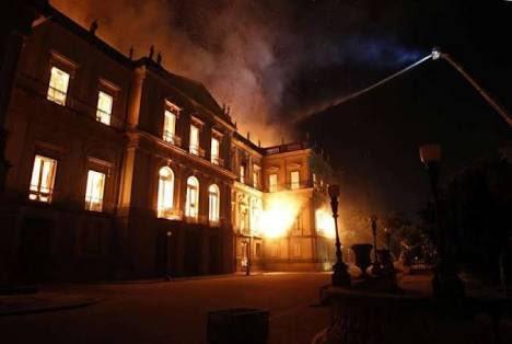 El ministro de Cultura de Brasil reconoce que el incendio del Museo Nacional fue causado por la falta de presupuesto